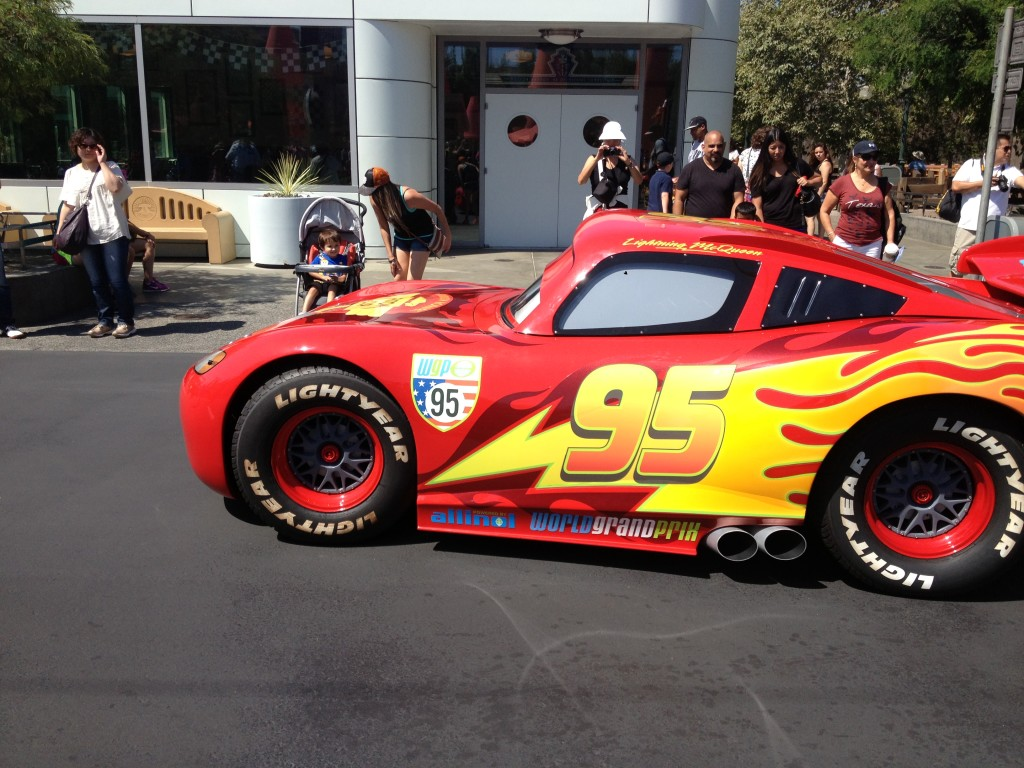 Lightning McQueen at Carsland