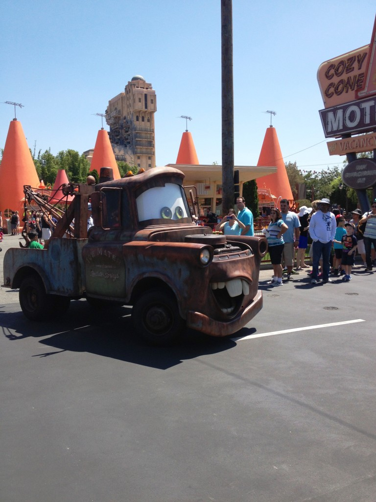 Mater at Cars Land